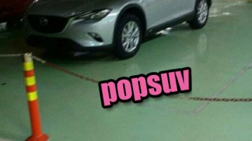 Alleged Mazda CX-4 spotted completely undisguised - Spied