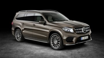 Mercedes GLS (GL facelift) imported to India for homologation - Report