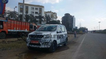 Mahindra Canto/Mahindra Cresto (Quanto facelift) spotted again - Spied