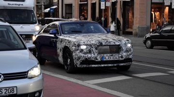 Rolls-Royce Wraith Series II (facelift) spied for the first time - IAB Exclusive