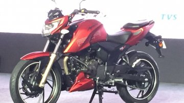 TVS Apache RTR 200 4V launched at INR 88,990 - IAB Report