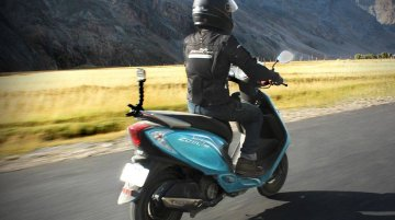TVS Scooty Zest 110 and the Himalayan Journey - Part 2*