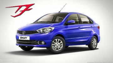 Tata Zica-based sedan - Rendering