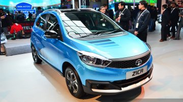 Personalized Tata Zica Adventure Themed version - Auto Expo 2016