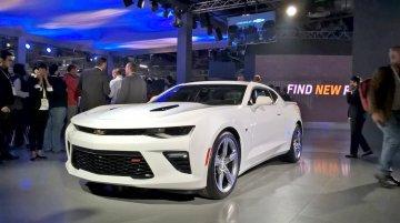 Chevrolet Camaro - Auto Expo 2016 Live