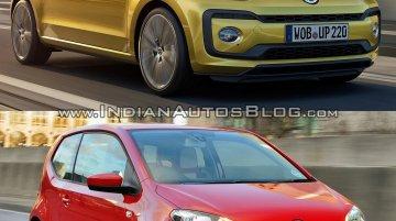 2016 VW Up! (facelift) vs pre-facelift model - Old vs. New