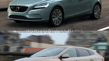 2016 Volvo V40 (facelift) and V40 Cross Country - Old vs. New