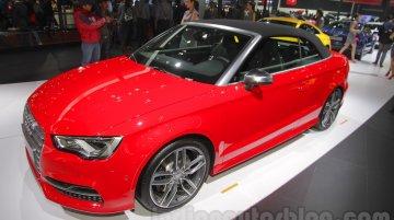 Audi S3 Cabriolet - Auto Expo 2016