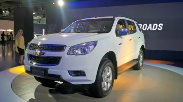 Chevrolet Trailblazer - Auto Expo 2016 Live