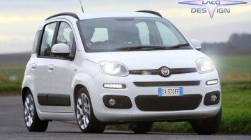 2017 Fiat Panda (facelift) exterior imagined - Rendering