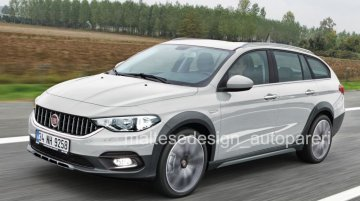 Fiat Tipo Estate Cross - Rendering