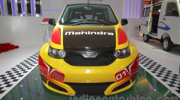 Mahindra e2o Sports - Auto Expo 2016