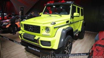 Mercedes G 500 4×4² - Auto Expo 2016