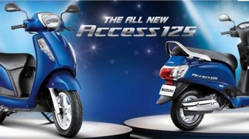 New Suzuki Access 125 official image leaked - Report