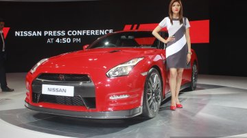 Nissan GT-R to be launched in September 2016 - Auto Expo 2016