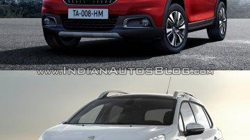 2016 Peugeot 2008 (facelift) vs older model – Old vs. New