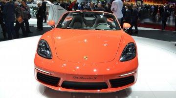 Porsche 718 Boxster - Geneva Motor Show Live