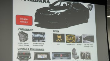 Proton Perdana specifications revealed - Report