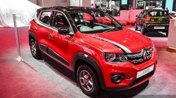 Renault Kwid with accessories - Auto Expo 2016