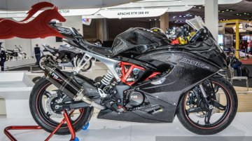 TVS Akula 310 (TVS Apache RR 310S) to launch before March 2018 - Report