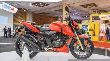TVS Apache RTR 200 4V, TVS Victor - Auto Expo 2016