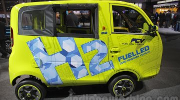 Tata Magic Iris Ziva fuel cell vehicle - Auto Expo 2016