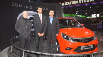 110 PS Tata Sport hatchback showcased at Auto Expo 2016 - IAB Report