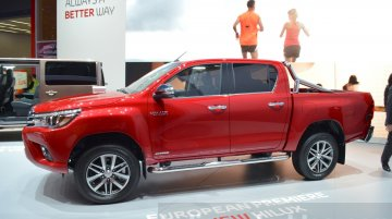 2016 Toyota Hilux pickup launches in France