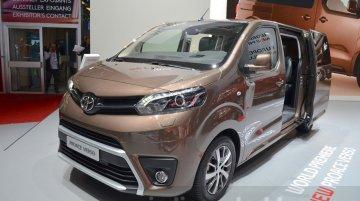 Toyota Proace Verso - Geneva Motor Show Live