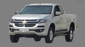 2016 Chevrolet Colorado (facelift) spotted undisguised – Spied