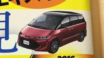 2016 Toyota Previa (2016 Toyota Estima) - Rendering