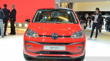VW Up! (facelift) launched in Europe