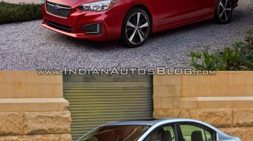2017 Subaru Impreza sedan vs 2011 Subaru Impreza sedan - Old vs New
