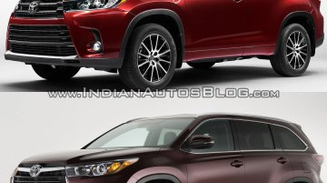 2017 Toyota Highlander vs 2014 Toyota Highlander - In Images