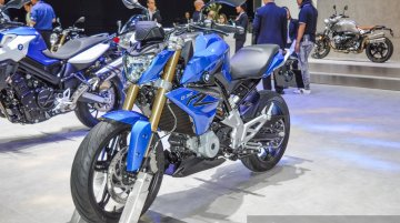 India-bound BMW G310R - 2016 Bangkok Live
