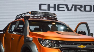 2016 Chevrolet Colorado (facelift) launches on 28 April - Thailand