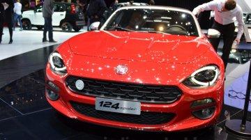 Fiat 124 Spider – Geneva Motor Show Live
