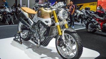 Honda CB650 Scrambler Concept - 2016 Bangkok Live
