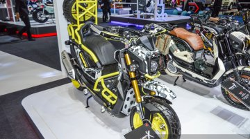 Honda Zoomer-X customisations - 2016 Bangkok Live