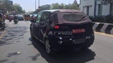 Hyundai ix20 caught testing in Chennai - Spied