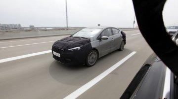 Kia K3 Sport (Kia Forte Sport) spotted testing with T-GDI engine - Spied