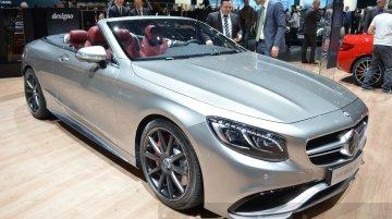 Mercedes-AMG S63 Cabriolet Edition 130 - Geneva Motor Show Live