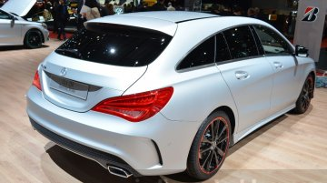 Mercedes CLA Shooting Brake with accessories - Geneva Motor Show Live