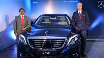 Mercedes S 400 launched at INR 1.31 crore