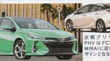 New Toyota Prius Plug-in Hybrid - Rendering