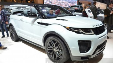 Range Rover Evoque Convertible to launch in India on 27 March - Report