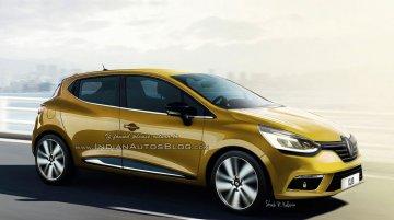 2016 Renault Clio (facelift) - Rendering