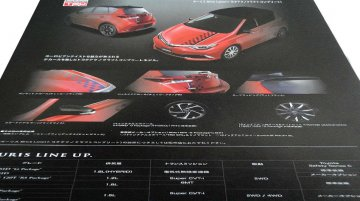 Toyota Auris TRD kit brochure scans leaked - Report