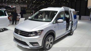 VW Caddy Alltrack - Geneva Motor Show Live