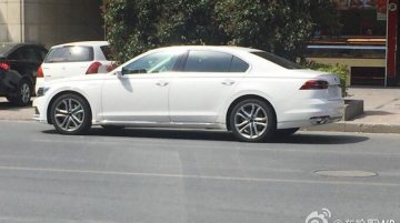Flagship VW Phideon spotted on public roads in China [Update]